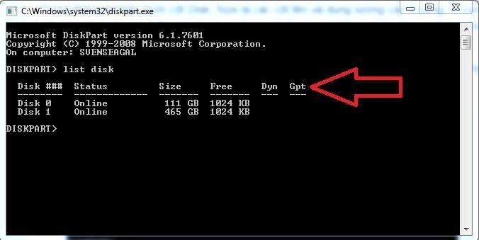 Hướng dẫn xem ổ cứng chuẩn GPT hay MBR 3
