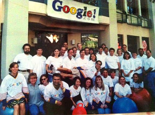 Google lúc ban đầu